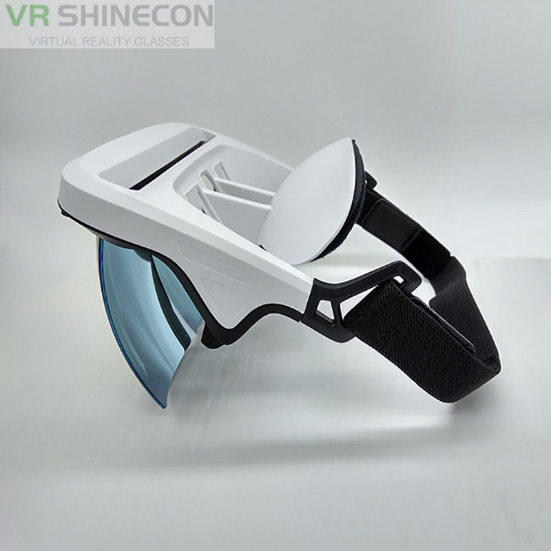 Professionnel Vente Portable 3D VR Boîte Mobile Lunettes de Réalité Virtuelle AR VR Clair Résolution Haute Dernière Mise À Jour Style