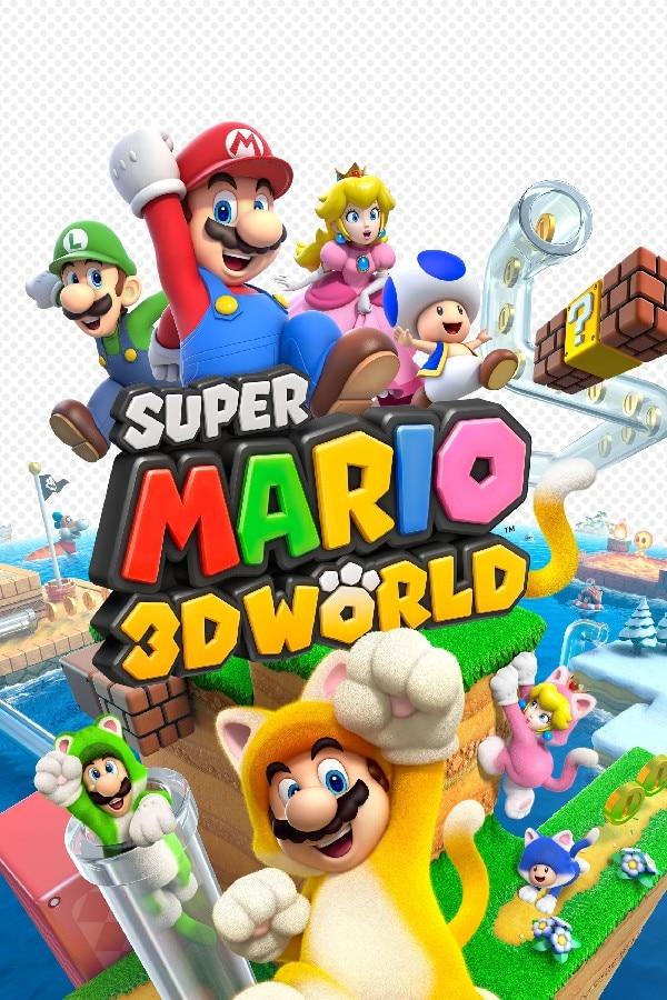 ᐂDIY Marco de dibujos animados Super Mario 3D mundo cartel seda ...