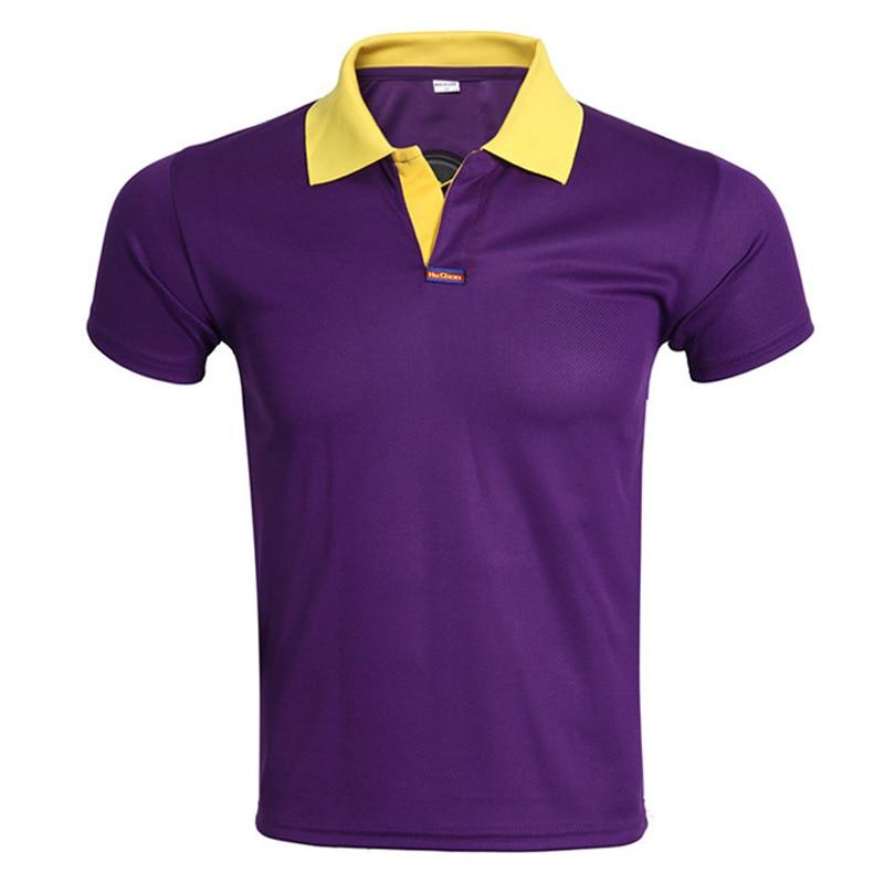 Brand Purple Polo Shirt Men Polo Homme 2016 Mens Fashion V Neck Short Sleeve Polo Shirts Summer Solid Color Mens Polos Plus size