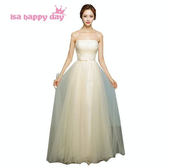 cheap modest strapless 8th grade graduation party corset tulle formal tea party dresses for teens 2020 ball gowns H3737
