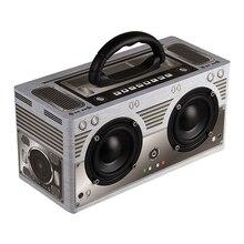 Abuzhen ลำโพงบลูทูธแบบพกพาลำโพง Soundbar ลำโพงไร้สายสเตอริโอ MP3 เครื่องเล่นเพลง AUX TF ซับวูฟเฟอร์โทรศัพท์