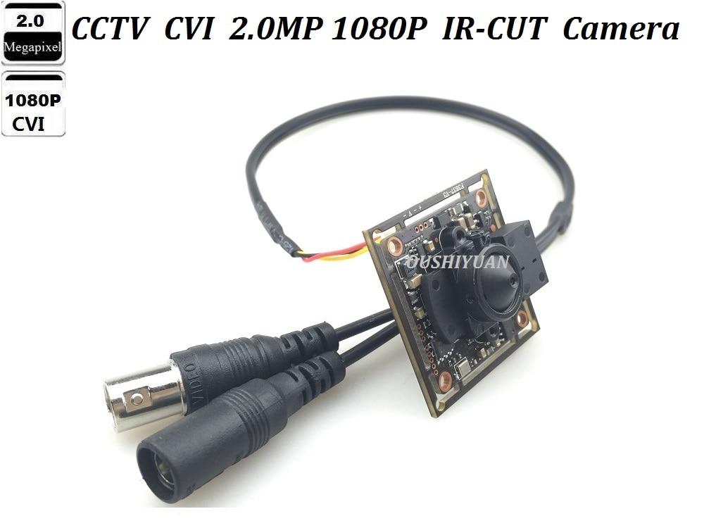 CCVT HD-CVI 1080P 2.0MP 3.7mm lens Pinhole IR-Cut  Security Mini HD CVI Camera