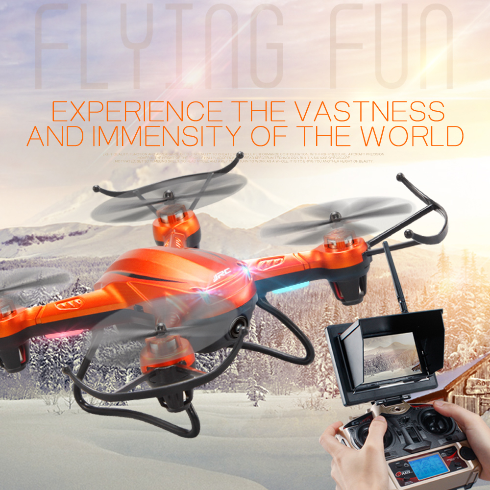 New JJRC H32WH h32GH Drone With Camera 3 Battery RC Quadcopter Altitude Hold Mode 2.4G 4CH 6Axis RC RTF FPV Toys VS syma X5C-1 jjrc h49 sol ultrathin wifi fpv drone beauty mode 2mp camera auto foldable arm altitude hold rc quadcopter vs e50 e56 e57
