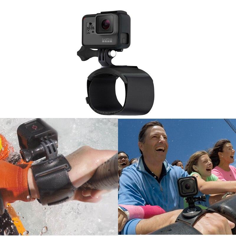 Dragonne à main bande support de montage caméra d'action 360 Dregrees pour Gopro accessoires de caméra d'action