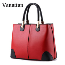 2016 new arrival women's fashion brand PU leather casual tote trend single handbag pacthwork shoulder bag ladies messenger bag