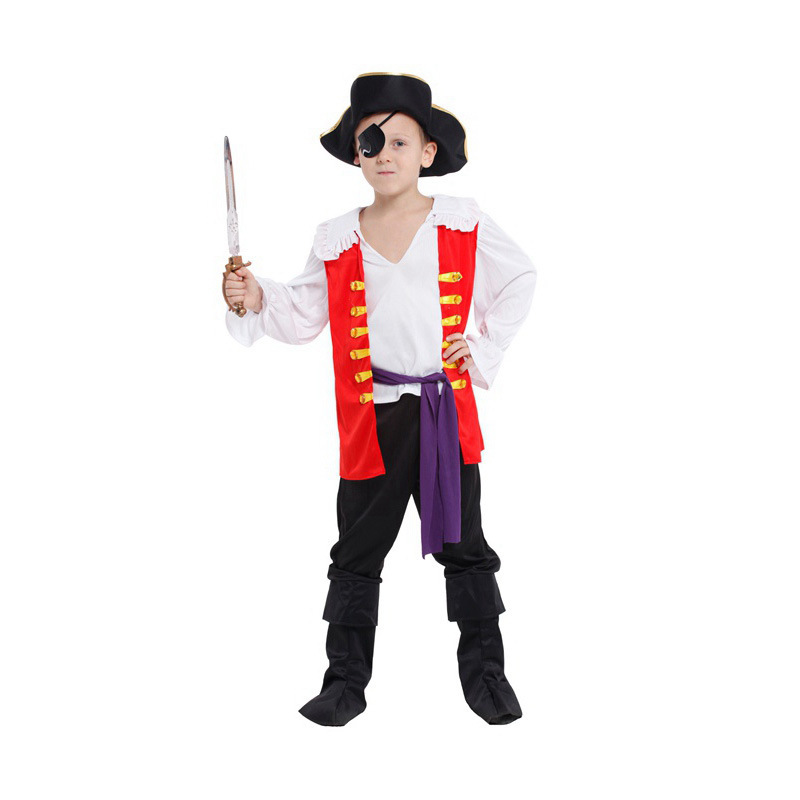 children pirates costume long sleeve Role playing cosplay Halloween costumes kid play clothes pirates model clothing-in Boys Costumes from Novelty u0026 Special ...  sc 1 st  AliExpress.com & children pirates costume long sleeve Role playing cosplay Halloween ...