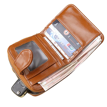 Women's Short Wallet Leather Coin Purse