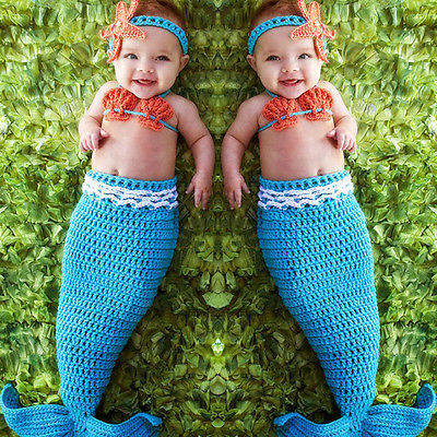 newborn photography props baby Costume Mermaid Infant baby photo props Knitting fotografia newborn crochet outfits accessories цены