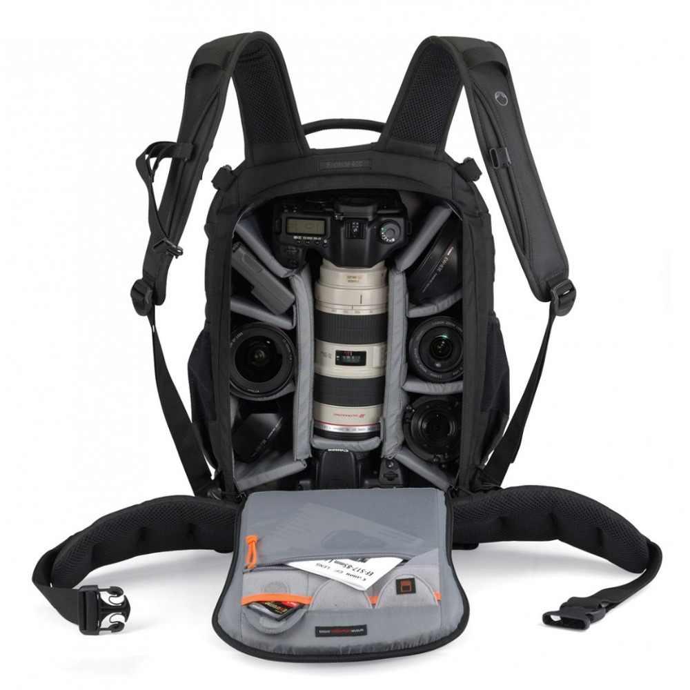 سريع مجاني Gopro حقيقية Lowepro الجانب الثاني 400 AW الكاميرا صورة حقيبة الظهر الرقمية SLR + جميع الطقس غطاء بالجملة