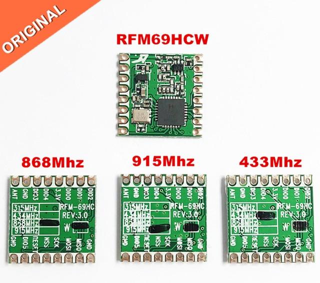 RFM69 RFM69HC RFM69HCW Programmeerbare 433Mhz 868Mhz 915Mhz RF Transceiver Module HopeRF ORIGINELE vervangen RFM22B