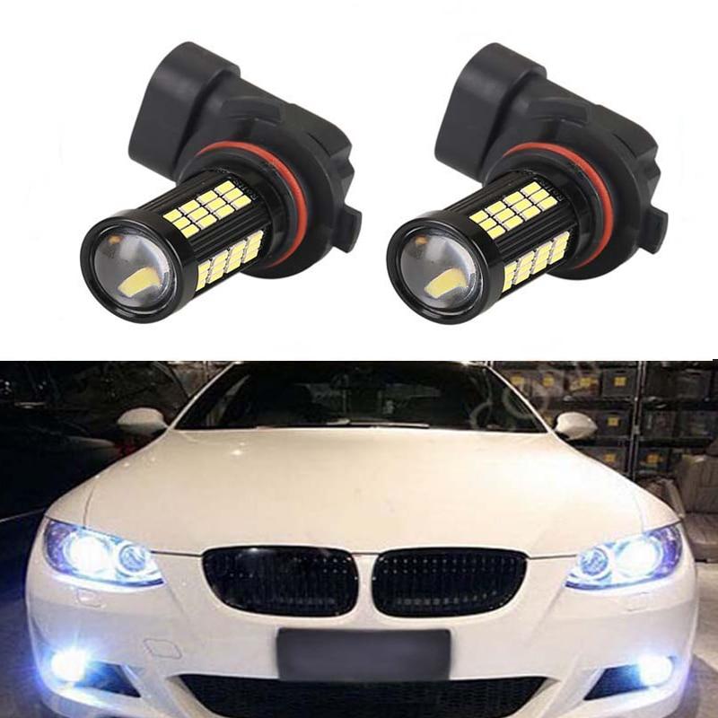 2X H11 H8 LED Car Lights LED Bulbs DRL Fog Light Driving Lamp For BMW E39 325 328 M mini SPORT