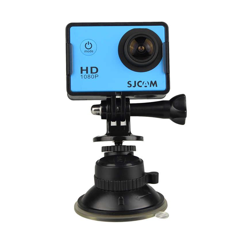 Бесплатная Доставка! SJCAM аксессуары автомобильный держатель на присоске для SJ4000 SJ5000 M10 серии SJ6 SJ7 M20 экшн Камера DV