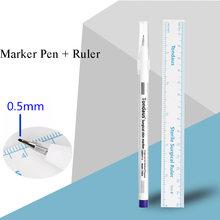 Маркерная ручка для тату 10 шт профессионального бровей губ