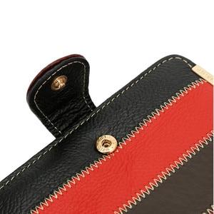 Image 5 - Skóra bydlęca kobiety torebka małe portfele luksusowe marki pani monety torba na kieszonkowe portfel damskie portmonetki carteira feminina