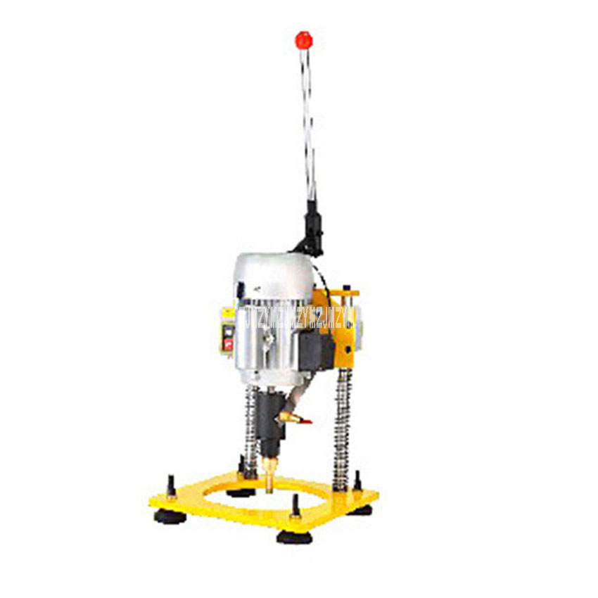 Portable K3-1 Glass Drilling Machine Water Well Drilling Machine 1400R/Min 180W 220V 50Hz For Driling The Hole Diameter: 3-300MM gear box drive rotation assembly for zhong gu small hole edm drilling machine for super water pressure durable wear resistant