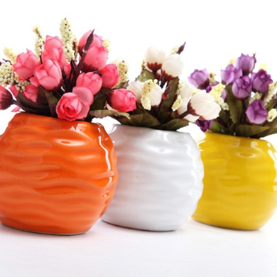 Jingdezhen Ceramic Small Vase Flower Dining Table Vase Decoration