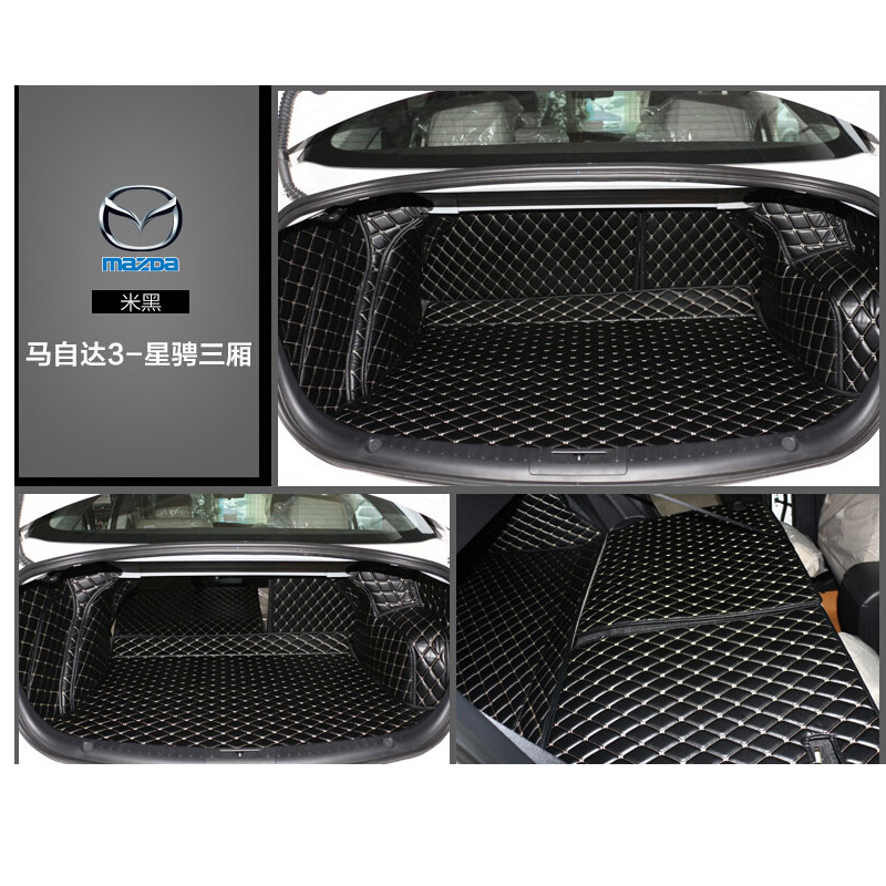 custom fit leather car trunk mat cargo mat for mazda3 mazda 3 2008 2009 2010 2011 2012 2013 5d cargo liner car rear trunk security shield shade cargo cover for nissan qashqai 2008 2009 2010 2011 2012 2013 black beige