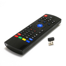 цена на Russian Wireless Mini MX3 Portable 2.4G Wireless Remote Control Keyboard Controller Air Mouse for SmartTV Android TV box mini PC