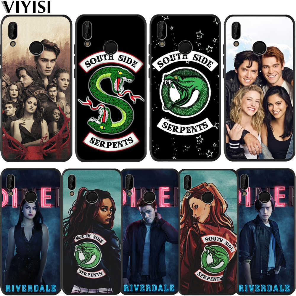 American TV Riverdale Series Etui For Huawei P30 Pro For huawei p20 lite case Mate 20 lite Honor 8X 10 P Smart Phone Case Coque