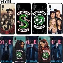 American TV Riverdale Series Etui For Huawei P30 Pro huawei p20 lite case Mate 20 Honor 8X 10 P Smart Phone Case Coque