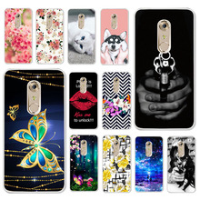 TAOYUNXI Cases For ZTE Axon 7 2017 Case A2017 5.5 inch Soft Silicone Back Covers Painted Bags Skins Shells