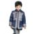 2016 niños del invierno ropa de algodón acolchado Boy parkas niños chaqueta gruesa capa de la manera caliente niños prendas de vestir exteriores Ocasional Wadded