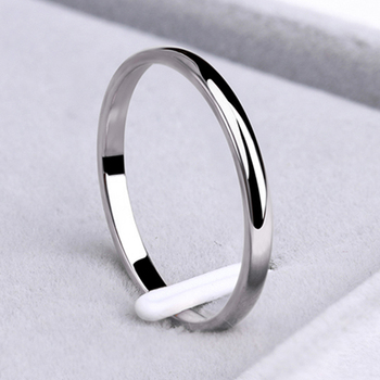 Stainless Steel Smooth/Simple Rings  2