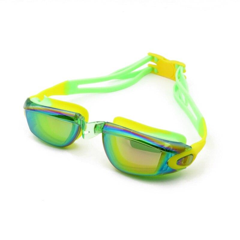 2018 Summer Swimming Goggles Anti-Fog Professional Waterproof Silicone Arena Pool Swim Eyewear Adult Swimming Glasses Bthi
