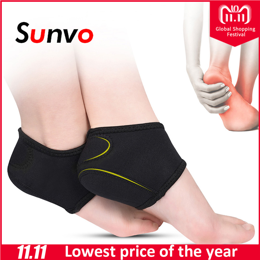 Sunvo Plantar Fasciitis Socks for Achilles Tendonitis Calluses Spurs Cracked Pain Relief Heel Pads Men Women Foot Care Inserts foot care massager health care plaster treatment heel pain stimulate the zb pain relief achilles tendinitis medical plasters