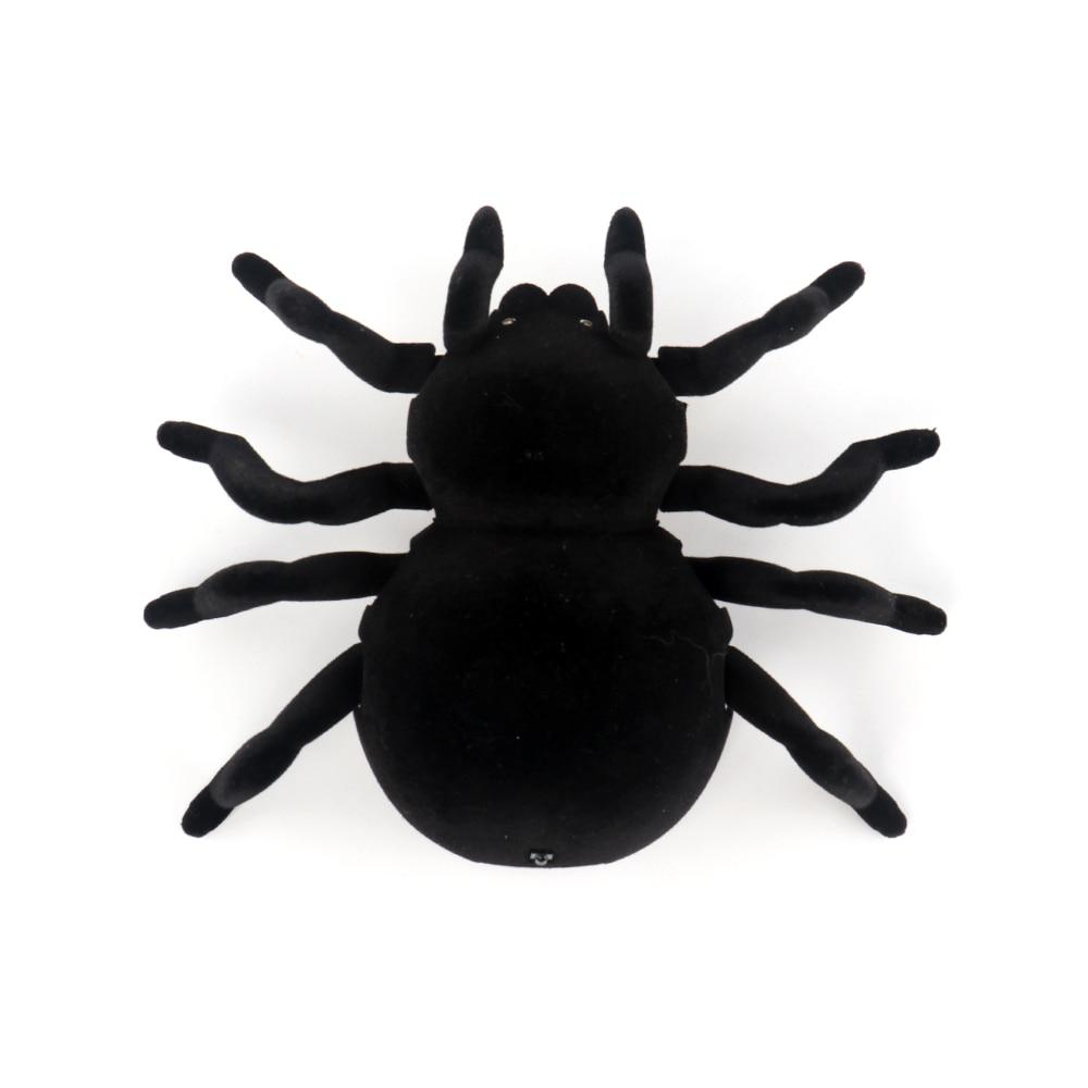 Control remoto 4CH Soft Scary Plush Creepy Spider Infrared RC - Juguetes con control remoto - foto 4