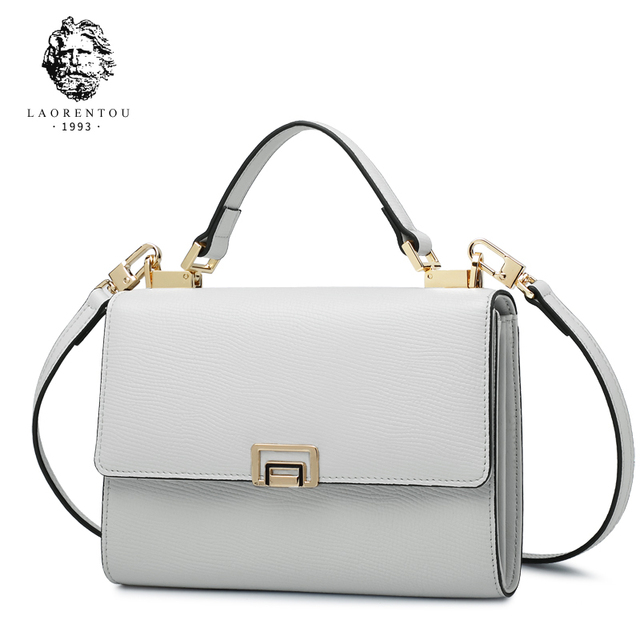 Laorentou Для женщин Сумки через плечо Разделение кожа моды сумка для леди кошельки Роскошные Винтаж сумка Для женщин кошельки