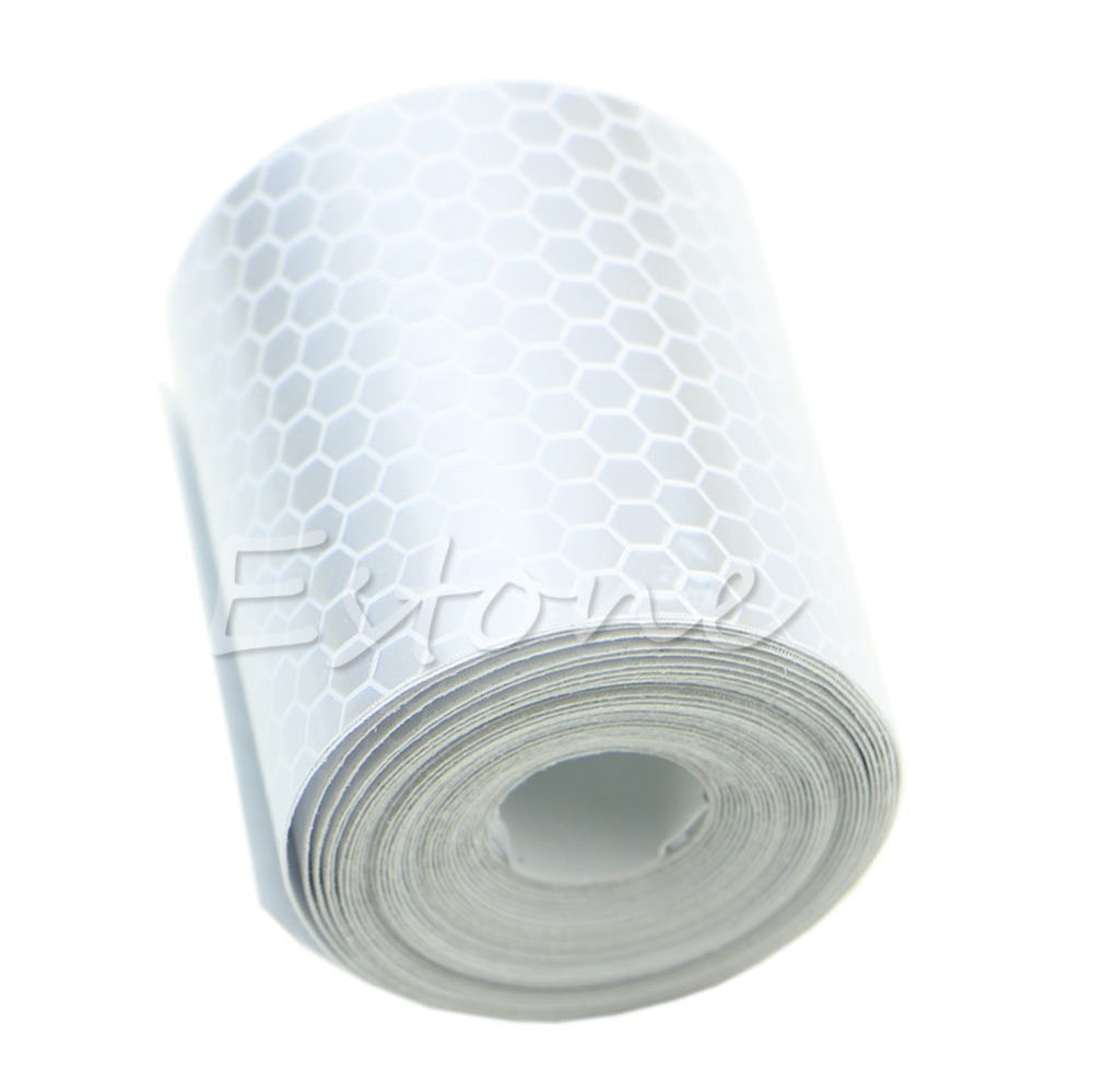 New Colorful Reflective Safety Warning Conspicuity Tape Film Sticker 3M
