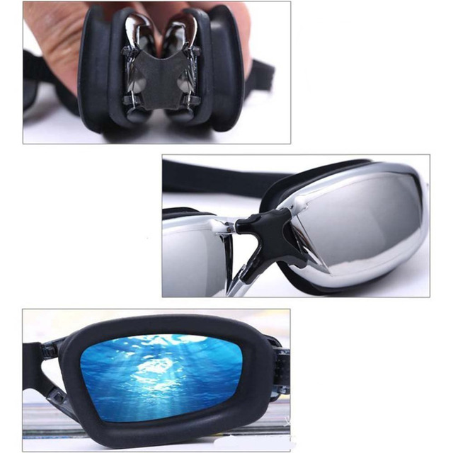 Waterproof Silicone Swimming Goggles