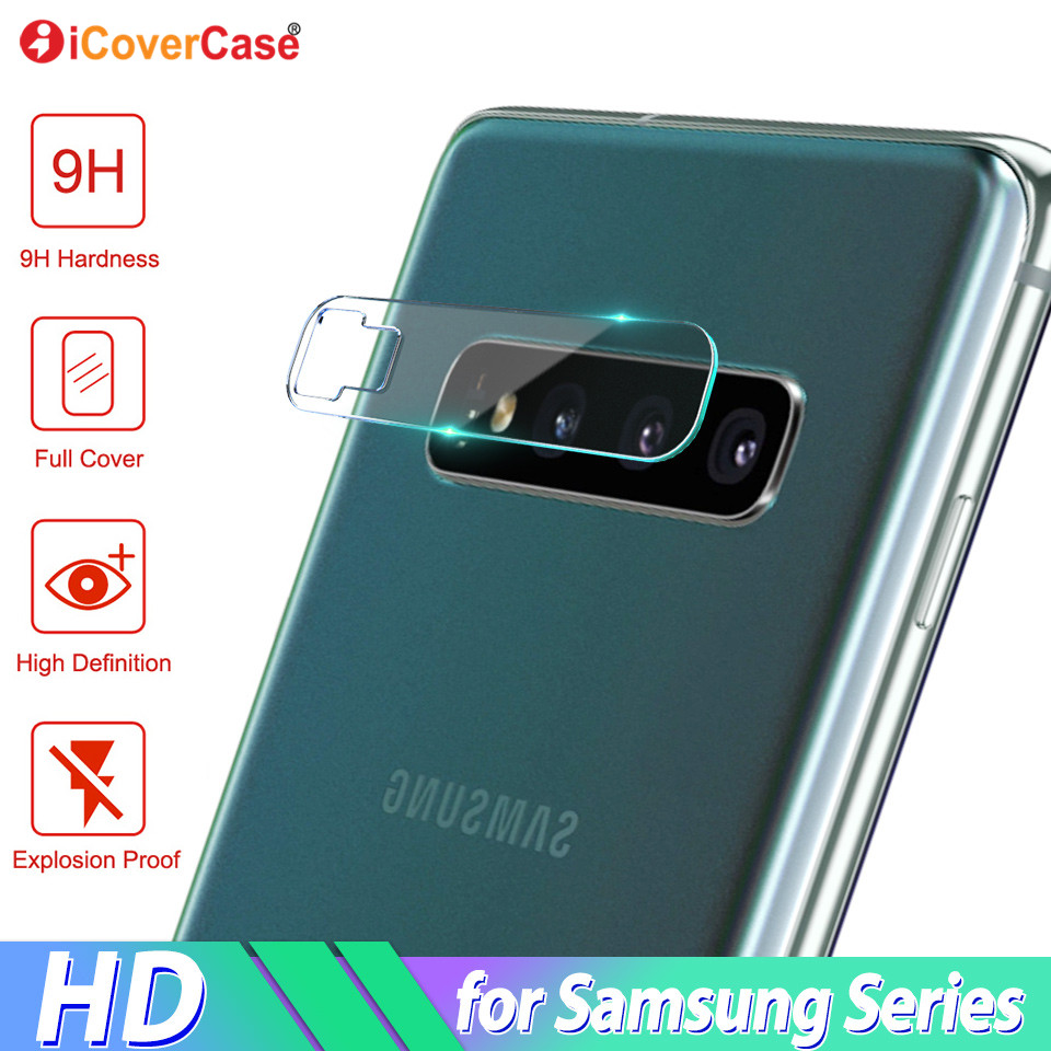 Back Camera Tempered Glass Film For Samsung S10 Lite S9 S8 Plus 10 M10 M20 Mobile Accessories Protector Lens For Galaxy Note 8 9