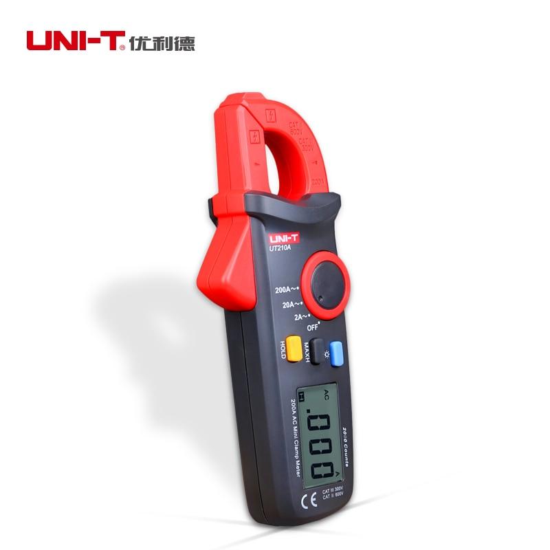 ФОТО Uni-t UT210C 200A Digital grampo multimetro RMS verdadeiro amperimetro voltimetro resistencia capacitancia C / F temperatura