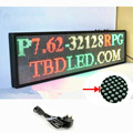 101X30 cm P7.62 indoor RGY 3color LED Display Scrolling text Red Green Yellow LED open sign billboard