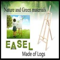 145cm log Painting Easel Sketch Easel Frame Artist Adjustable Tripod Display Shelf Outdoors Studio