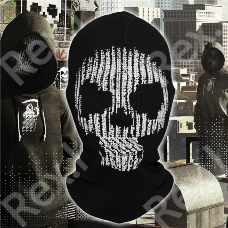Watch Dogs 2 DedSec Hacking Collective Members Mask Cosplay