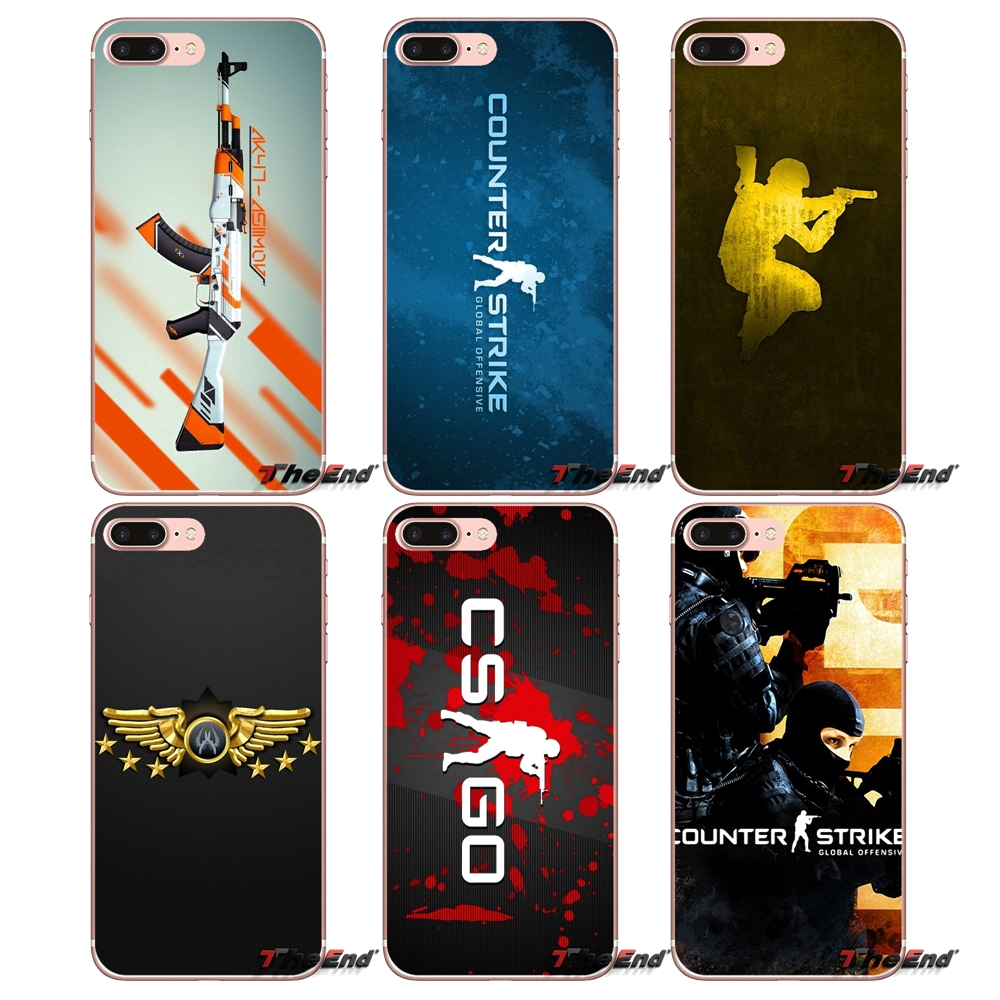 Half-wrapped Case Cellphones & Telecommunications Yinuoda For Iphone 7 6 X Case Cs Go Strike Gun Coque Shell Print Phone Case For Iphone 7 6 X 8 6s Plus 5 5s Se Xr Xs Xsmax Case Choice Materials