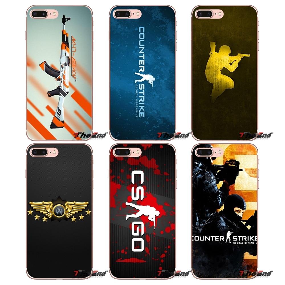 Careful Maiyaca Cs Go Strike Gun Cute Transparent Soft Tpu Phone Accessories Case For Iphone 8 7 6 6s Plus X 4 5s Se 5c Case Coque Funda Phone Bags & Cases Half-wrapped Case