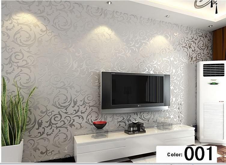 Koop moderne 3d achtergrond vinyl behang voor woonkamer goud en zilver - Modern behang voor volwassen kamer ...
