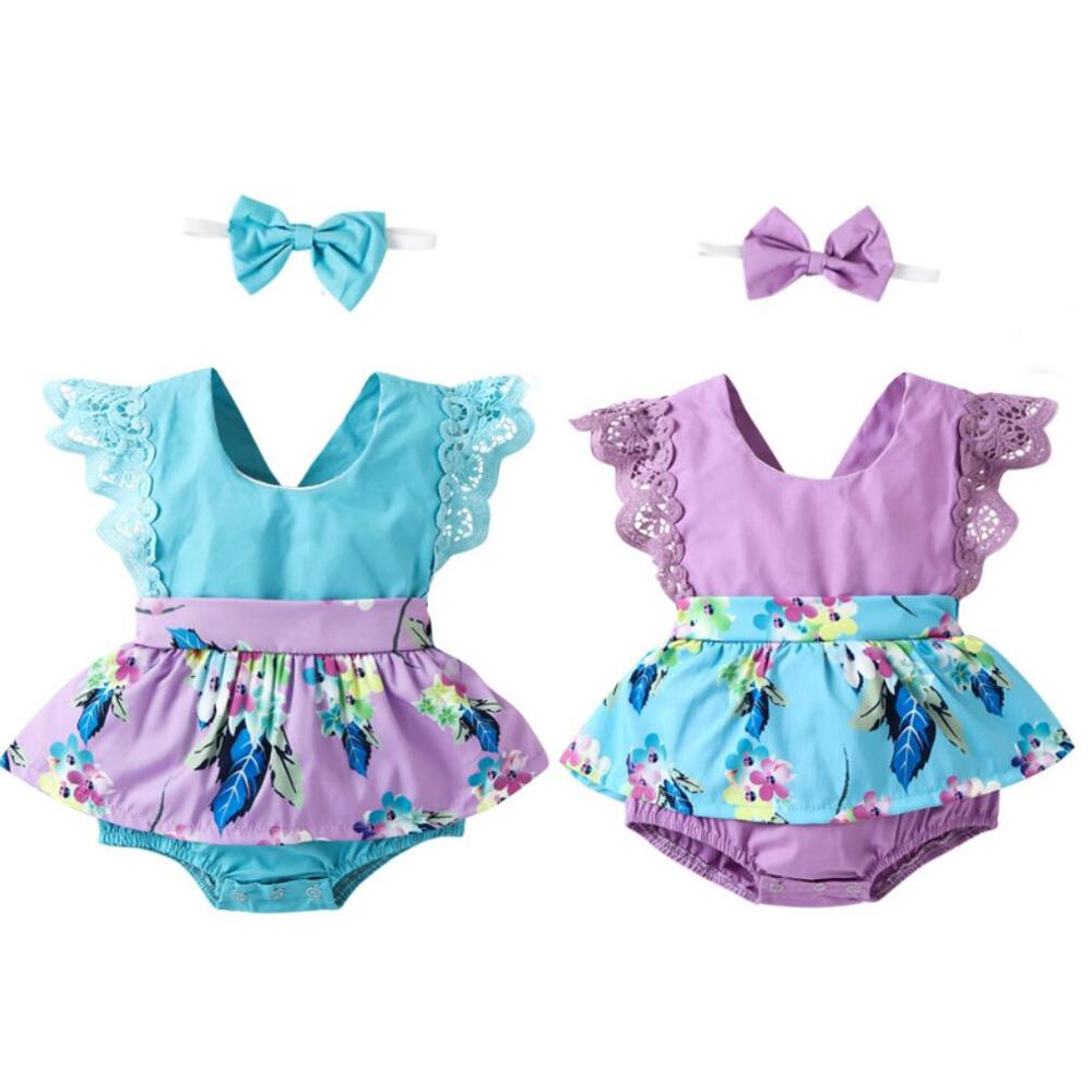 ae156ac5f2963 ❤️ 2019 Baby Girls Dress Big Bowknot Infant Party Dress For Toddler Girl  First Brithday Baptism ...