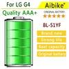 Aibike Mobile Phone Battery 5550mAh BL 51YF For LG G4 H811 H810 VS999 V32 VS986 LS991