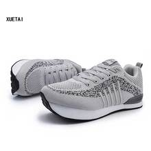 Men K Negative Heel Casual Shoes Man Orthopedic Upside Down