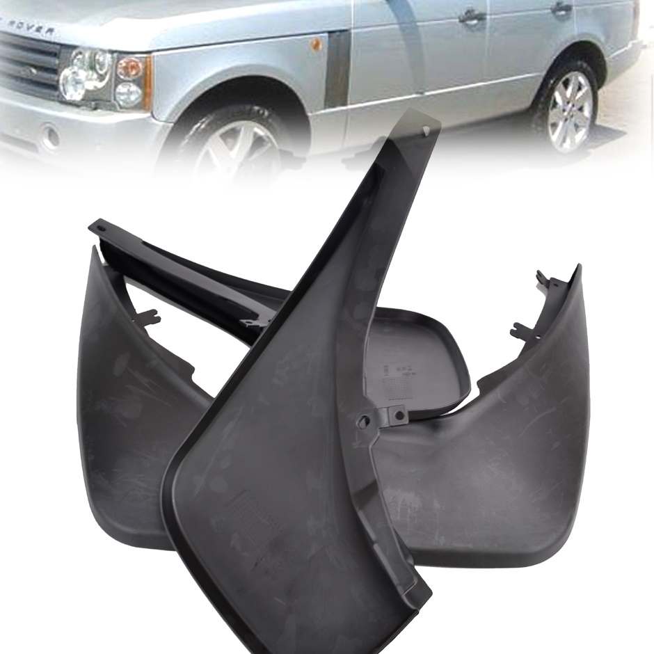 Xukey front rear mud flaps for landrover range rover 2006 2013 l322 mud flap splash guards mudguards car accessories 2010 09 08