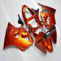 Пользовательские + винты литья под давлением orange ABS крышка для ниндзя ZX 6R 2000 2002 ZX6R 2000 2001 2002 мотоциклов обтекателя