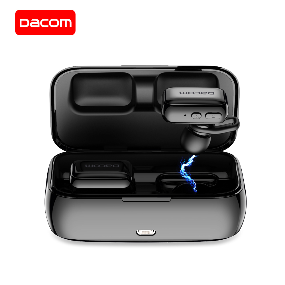 $33.14 DACOM GF8 Bluetooth Earphone with Mic True Wireless Stereo Earbuds with Charging Box Power Bank Mini Earpiece for iPhone Samsung