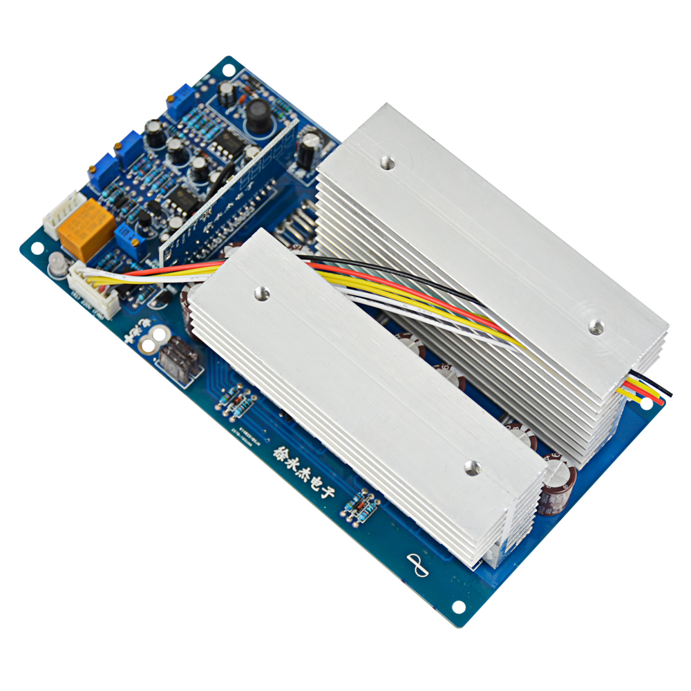 Aoshike 3000w Pure Sine Wave Power Frequency Inverter Board Dc 24v Modified Using Pic Microcontroller 48v 60v To Ac 220v 1500w 3500w With Perfect Protection In Inverters Converters From