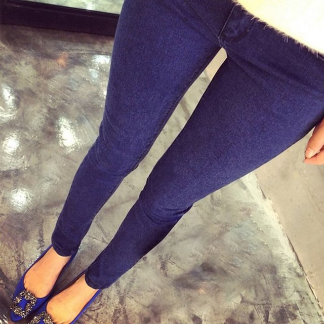 092ebec8ec3b4 קנו הריון וחופשת לידה | Cotton Jeans Pregnant Women Elastic Stretchy ...