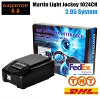 Freeshipping Martin Light jockey USB 1024 DMX 512 DJ Controller,Martin lightjockey 3 Pin 1024 USB DMX Controller led stage light